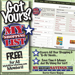 Get Your Free Shopping List!
