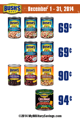Save on Bush's Best Beans