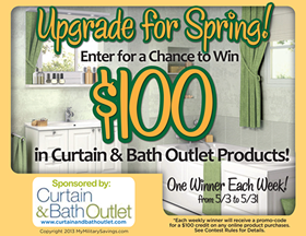 Curtain &amp; Bath Outlet Giveaway