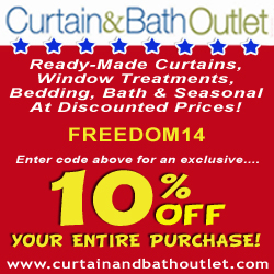 Curtain and Bath Outlet