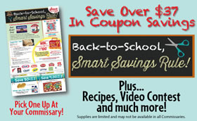 Back to School Quaker Coupon Flyer
