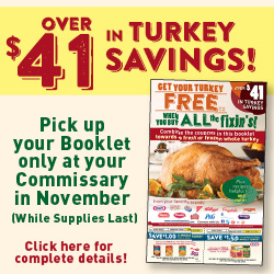 Turkey Coupon Savings
