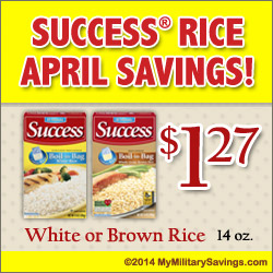 Success Rice Savings