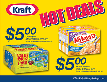 Kraft Commissary Savings
