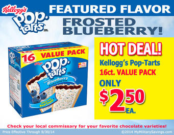 Save on Kellogg's Products