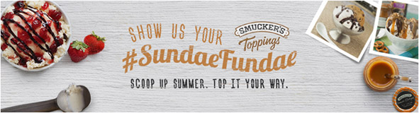 Sundae Fundae Smucker's® Promotion